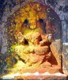 Image of goddess Yellamma , Yellamma temple,  Saundatti, Karnataka, India