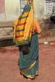 Devadasi with matted hair, Yellamma temple, Saundatti, Karnataka, India