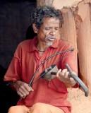 Blind Juang musicians in Gupta Lanja
