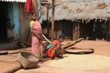 In a Paraja village