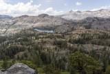Overlooking the Desolation Wilderness