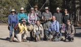 The gang at Tamarack Camp
