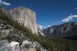 El Capitian and Half Dome