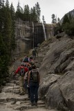 On the Mist Trail to Vernal Falls