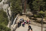At the top of Vernal Falls