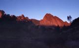 Sunset at Pinnacles National Park - film
