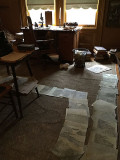 John Muir's scribble den