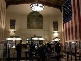 Early morning at the San Jose Diridon Station