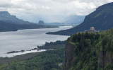 The Columbia river at Chanticleer Point