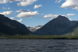 View from the boat tour on Lake McDonald
