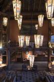 The Lobby of the Lake McDonald Lodge