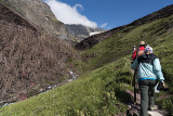 Hiking the Siyeh Pass Trail