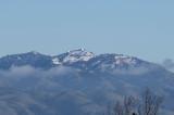 Snowy Mount Hamilton