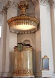 La chaire de la cathédrale luthérienne