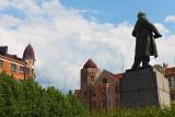 Lénine veille sur la ville !
