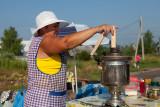 Femme au samovar