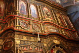 Iconostase à l'intérieur de Saint-Basile