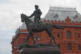 Statue du Maréchal Joukov