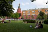 Journée de détente dans le jardin d'Alexandre