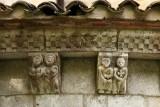 Modillons de l'abside