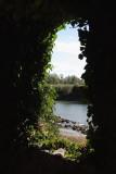 Vue sur le Gave d'Oloron