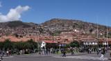 Vue sur la ville de Cuzco