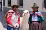 Femmes au lama