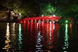 Le pont du lac de l'Epée restituée