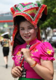 Jeune fille Thaï noire