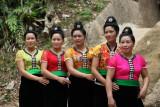 Jeunes femmes thaïs noires