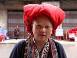 Femme de l'ethnie Dao rouge
