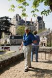 Pbasers devant le château