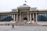 Le Palais du Gouvernement mongol