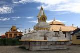 Stupa et petit temple