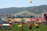Le stade du Naadam