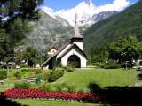 Chapelle des PrazThe chapel in Les Praz