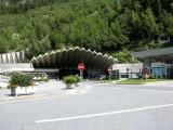 Entrée du tunnel du Mont-Blanc côté FranceMount Blanc Tunnel french entrance