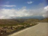 The road down from Nemrut Dagi