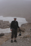 Johan at the top of Nemrut Dagi