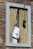 naked lady at the window