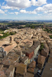 Siena from above