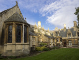 Courtyard of Gonville & Caius college