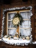 Window sill nativity
