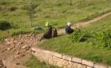 older women taking a rest