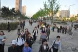 Pyongyang rush hour