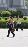 out for a Sunday stroll DPRK