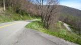 Curvy Orchards Gap Road VA