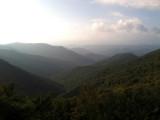 Blue Ridge Parkway scenery, NC