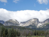 Rocky Mountain National Park view: Larimer Co., CO