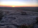 Sunset at Arabia Mountain: Dekalb Co., GA
